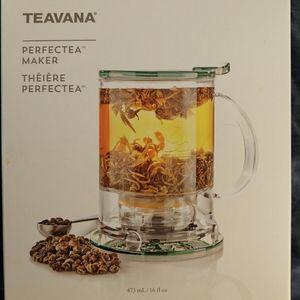 Teavana Perfectea Tea maker Aqua 16 oz